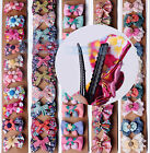NEW 1~5pcs Women Fashion Cute Lace Colorful Hairpins Hair Clips Wedding Jewelry
