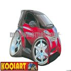 Koolart Cartoon Smart Car City Coupe Fortwo Red / Black - Mens Gifts (952)