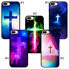 the Jesus Christ Cross with Pretty Nice Galaxy universe holy iPhone case cover
