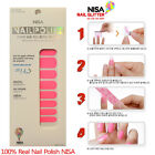 NISA NAIL POLOSH Dried Nail Art applique PINK Manicure & Pedicure Supplies