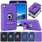 Tyre Rubber Shockproof Heavy Duty Case Cover Kickstand For iPad 2/3/4 Mini 1/2/3