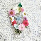 Handmade Real Dried Pressed Flower case for iPhone SE 5 5s 6 6s plus 7 RCF