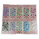 Approx 100 PCS Gemstones Self Adhesive Acrylic Rhinestone Sticker DIY Decoration