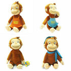 1pc CUTE Curious George Toy Lucky Monkey Toy Funny Fashion Apron Scarf Monkey