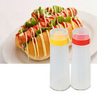 300ml Capacity 4-Hole Squeeze Type Sauce Bottle Ketchup Jam Mayonnaise Oil ES