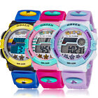 Ohsen Digital LED Alarm Date Electronic Sport Rubber Watch for Child Boy Girl