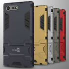 For Sony Xperia X Compact Case Hard Slim Kickstand Protective Phone Cover