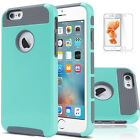 For Apple iPhone 6s 7 Plus Cover Case Shockproof Hybrid Rugged Rubber Hard Skin