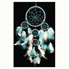 Handmade Dream Catcher with feathers wall hanging decoration ornament-B2