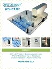 Sew Steady Ultimate Wish Table PACKAGE to fit BROTHER DREAM MACHINE  XV8500