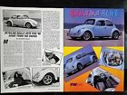 1966 Volkswagon VW Beatle Bug - 2 Page Original Article - Free Shipping