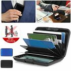 Aluminum Metal Wallet Business ID Credit Card Case Holder Anti RFID Scanning