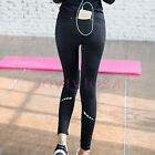 Womens Yoga Pants Running Jogger High Waist Workout Slim Fit Ninth Leggings