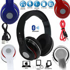 Wireless & Wired Foldable DJ Style 4.2 Stereo Headphone Headset Earphone MP3/4