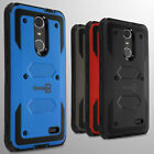 For ZTE Grand X 4 Hard Case Hybrid Phone Tough Cover Shockproof Armor