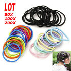 200pcs Fashion Elastic Rope Women Hair Ties Ponytail Holder Head Band Hairbands