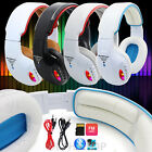 Foldable Wireless Bluetooth 4.2 DJ Style Stereo Headphone Headset Earphone + Mic