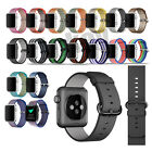 New Royal Woven Nylon Sport Band Bracelet Wrist Strap For Apple Watch 38mm 42mm