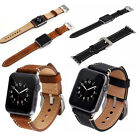 Luxury Leather Watch Band Bracelet Replacement Strap For Apple Watch 38/42MM