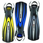 Mares EXCEL + Open Heel Fins with ABS Adjuable Strap, Scuba Dive Diving, Power