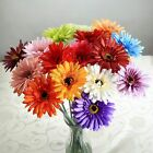 Home Garden - Artificial Gerbera Flowers Wedding Party Bouquet Home Garden Decor Beauty Gift