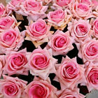 Wedding Party Home Decor Artificial Fake Silk Rose Flower Bouquet LOOK WEDDING