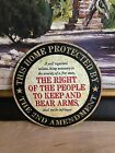 2ND AMENDMENT RIGHT TO BEAR ARMS LAW EMBOSSED METAL SIGNN SHOP HOME WALL DISPLAY