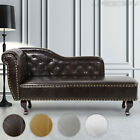Chesterfield Chaise Longue Day Bed Ottoman Antique Relax Lounge Sofa Seat Chair