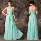 Bridesmaid Evening Formal Party Ball Gown Chiffon Prom Cocktail Wedding Dresses