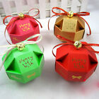 2Pcs/Set Geometry Pattern Wedding Party Decoration Crafts Candy Gift Box