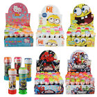 Childrens Party Bubbles Disney Marvel Spongebob Hello Kitty Bag Fillers Toys