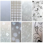 90x200cm Waterproof Frosted Window Film Frost Glass Home Door Privacy Sticky PVC