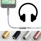 NEW Lightning to 3.5mm Headphone Jack Adapter Cable For Apple iPhone 7 & 7 Plus