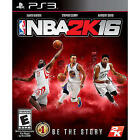 NEW NBA 2K16 (Sony PlayStation 3, 2015) FREE FIRST CLASS SHIPPING !!!!!