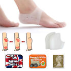 MOISTURISING SILICONE GEL HEEL CUSHION SOCK PROTECTOR CRACKED FOOT HARD DRY SKIN