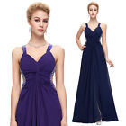 Sexy Womens Chiffon Long Maxi Dresses Evening Party Bridesmaid Cocktail Gown 3#