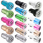 NEW Dual 21A 2 Port USB Car Charger Adapter For iPhone Samsung LG Universal lot