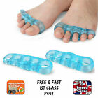SILICONE GEL TOE CORNS PROTECTOR SEPARATOR STRETCHER SPREADER BUNION PAIN RELIEF