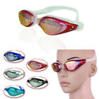 Classic Silicone Swim Glasses Anti Fog Anti-UV Colorful Protective Eye-glass