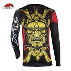 Japanese Warrior Spray Fitness Fighting Fierce Boxing jerseys muay thai