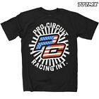 PRO CIRCUIT STARS AND STRIPES MX MOTOCROSS T-SHIRT TEE BLACK MEDIUM *IN STOCK*