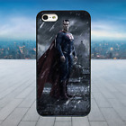 SUPERMAN IN THE RAIN Black Rubber Phone Case Cover Fits Iphone Models