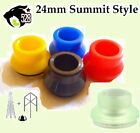 24mm Delrin Summit Cap Apocalypse Red Yellow bLACk Blue Green District F5VE Goon