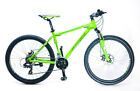 "Sundeal M1 26"" Hardtail Mountain Bike Mech Disc Shimano Tourney 3 x 7s NEW"