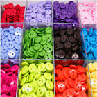 UP 100PCs Candy Colors Round Resin Sewing 2 Holes Buttons Embellishment Newest