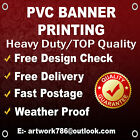 CUSTOM PRINTED OUTDOOR PVC BANNER & ADVERTISING SIGNS BEST QUALITY 530gsm