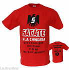Men's Funny Sacate Beer Parody Mexican Spanish Hispanic Latin Humor Joke T Shirt
