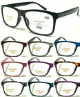 L108 Classic Stylish Nerd Plastic Reading Glasses/Simple Unisex Design/Hyperopia