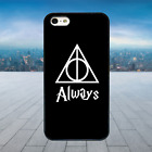 Hary Potter Always Symbol Black Hard Phone Case Cover Fits Iphone Models