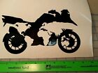 BMW, motorcycle, one world decal